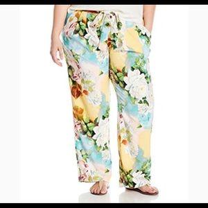Entose multi floral pants 2x